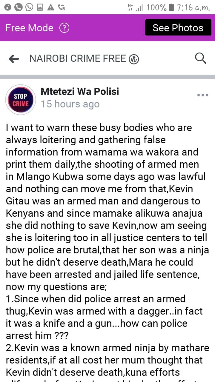 Nairobi Crime Free